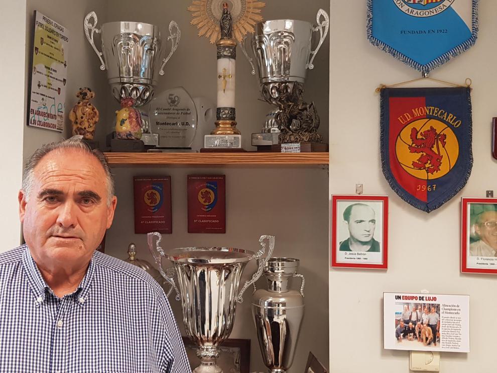La U.D. Montecarlo tiene más de 50 años de historia que Faustino Lorente, actual presidente, ha vivido desde sus inicios.