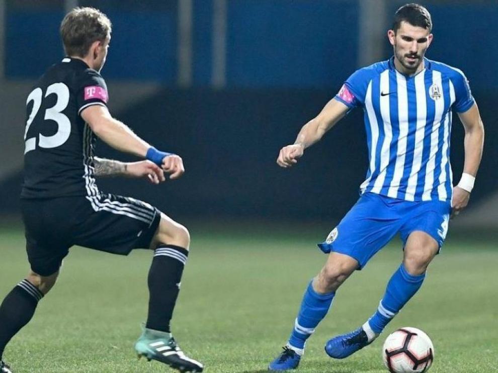 Datkovic, nuevo central de la SD Huesca.