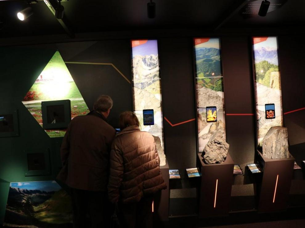 La exposición incluye 12 módulos museográficos.