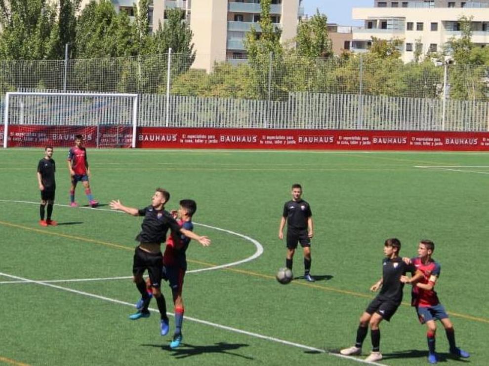 Fútbol-División de Honor Cadete. Oliver-Teruel.