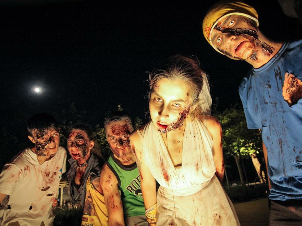 La Survival Zombie de Teruel, en una imagen de archivo