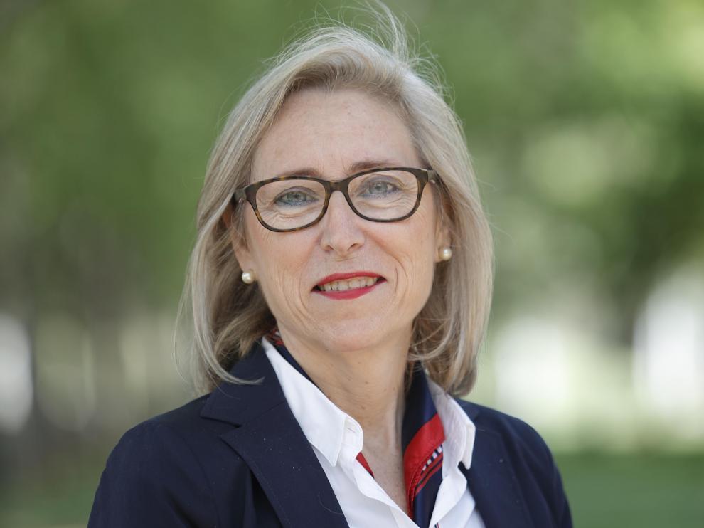 Pilar Cortés, portavoz de Educación del Partido Popular en el Parlamento autonómico.