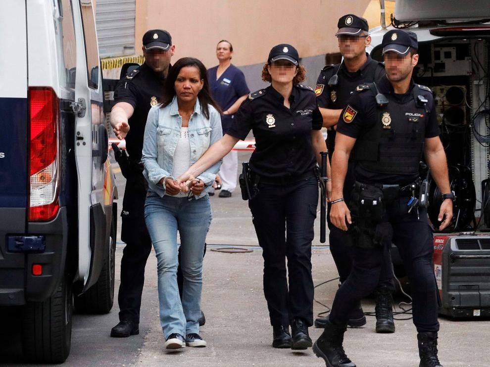 Ana Julia acude a la tercera jornada del juicio por el asesinato del pequeño Gabriel.