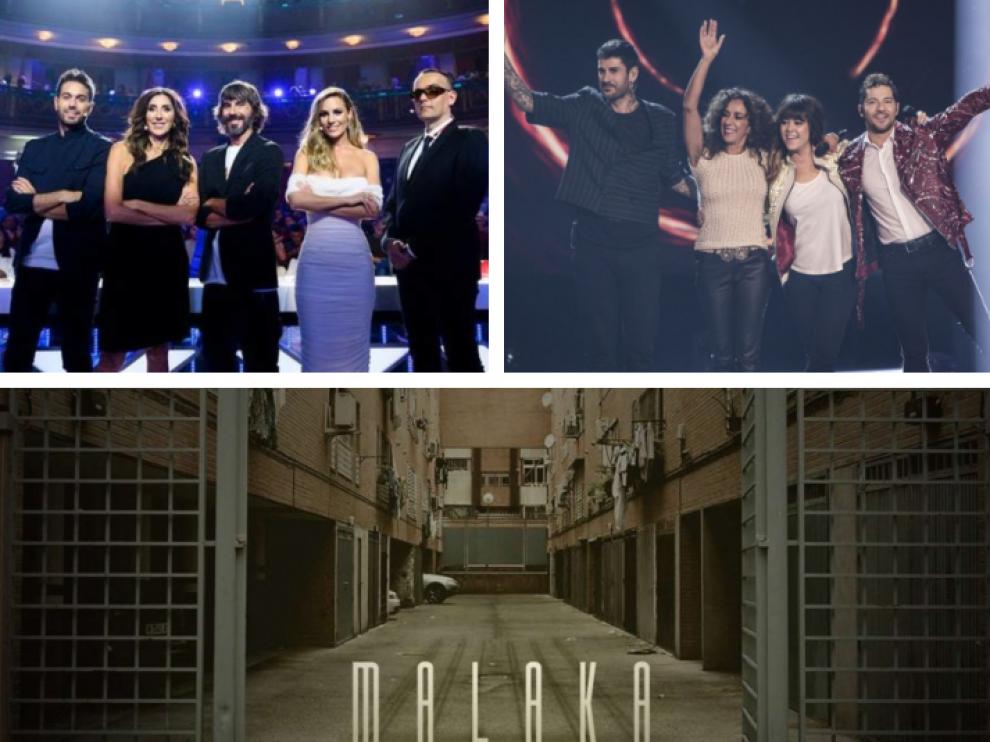 'Got Talent', 'La Voz Kids' y 'Malaka' se estrenan este lunes
