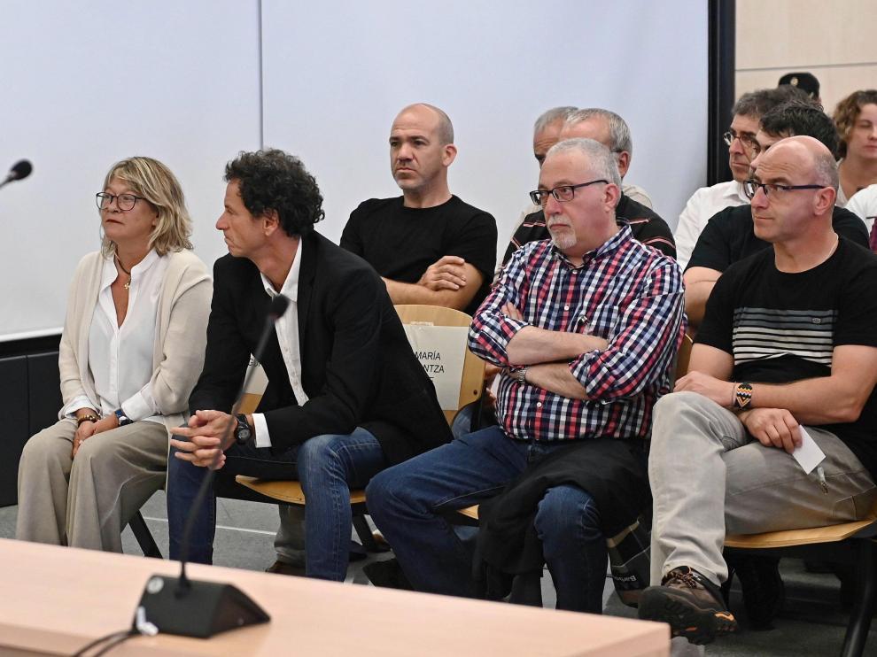 Juicio a los 47 miembros del 'frente de cárceles' de ETA en la Audiencia Nacional.