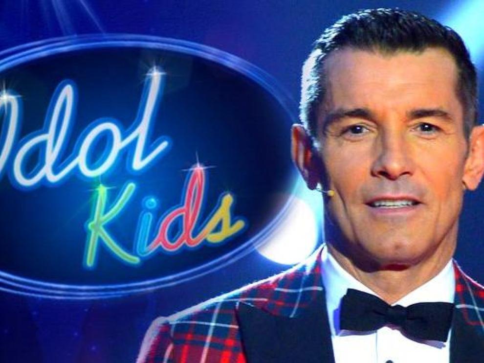 Jesús Vázquez presentará 'Idol Kids'