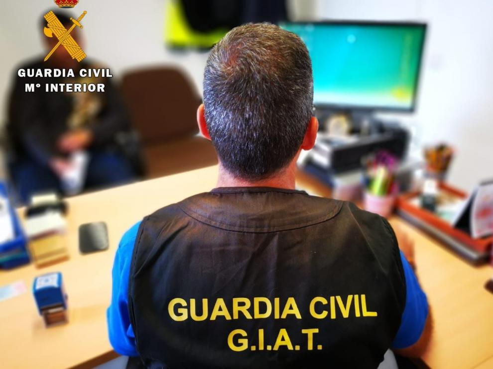 El caso ha sido llevado por los agentes del Grupo de Investigación y Análisis de Tráfico (GIAT) del Subsector de la Guardia Civil de Huesca.