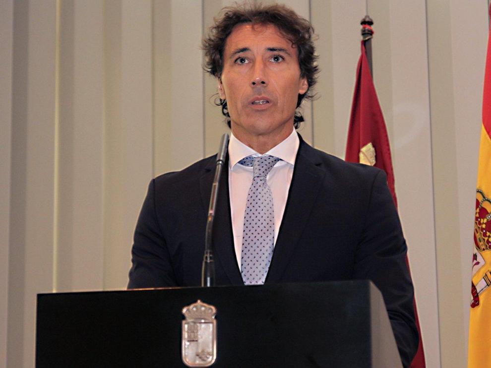 El director general de Seguridad Ciudadana y Emergencias de Murcia, Pablo Ruiz Palacios.