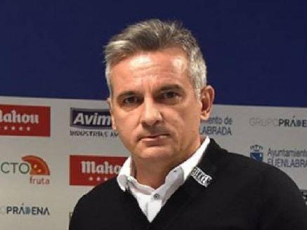 Miguel Melgar, director deportivo del Fuenlabrada.