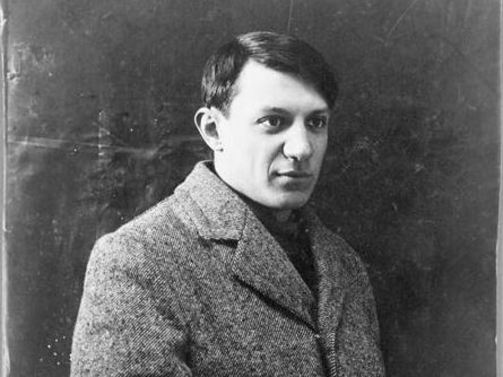 Retrato de Picasso en 1908