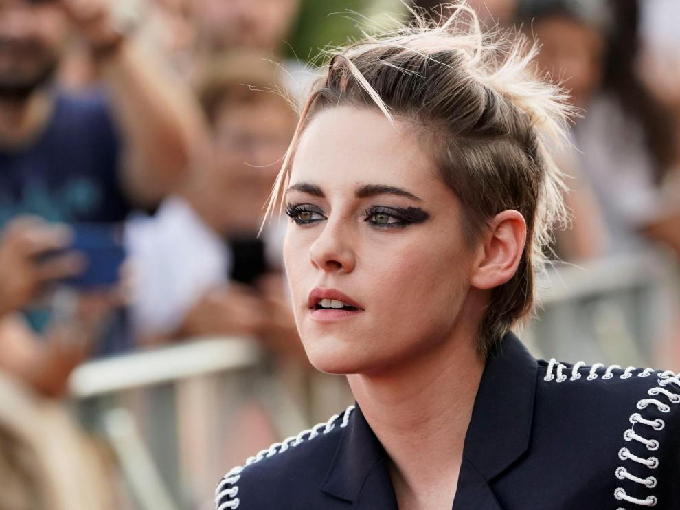 Kristen Stewart, este viernes en el Festival de San Sebastián.