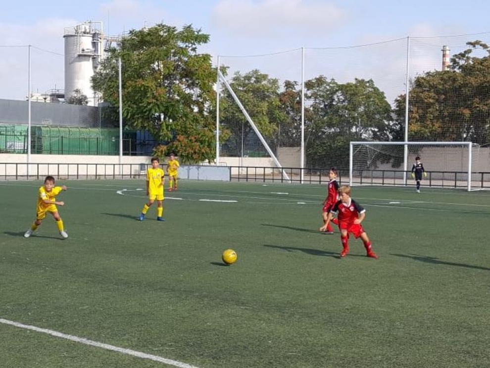 Fútbol. Benjamín Preferente- San Gregorio vs. Oliver.