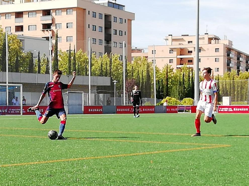 Fútbol. División Honor Cadete- CD Oliver vs. Monzón