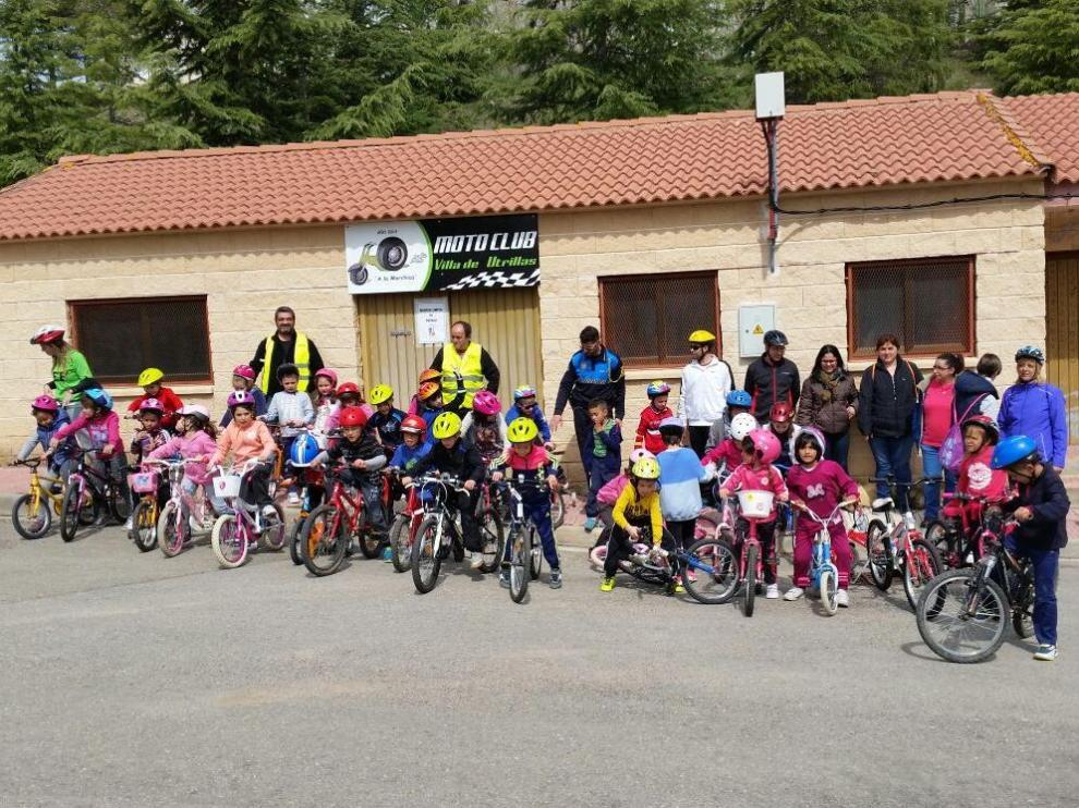 El motoclub Villa de Utrillas es una de las asociaciones beneficiarias de las ayudas.