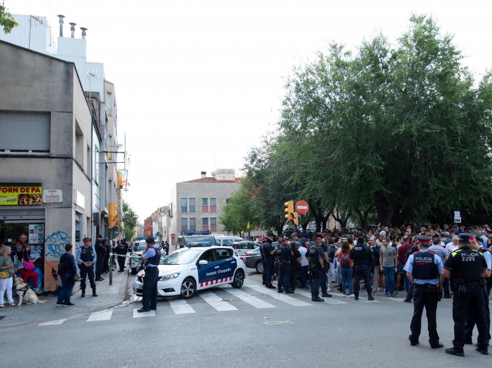 Nueve independentistas detenidos en una operación policial en Cataluña.