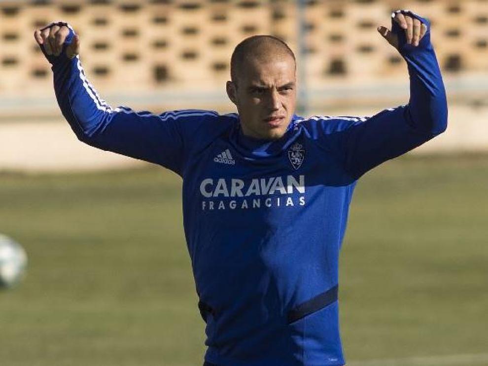Jorge Pombo, en la Ciudad Deportiva.