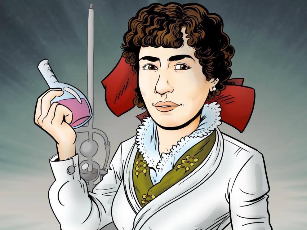 Cartel de la exposición 'La mujer en la facultad de ciencias, hace solo 100 años (1919-2019)'.