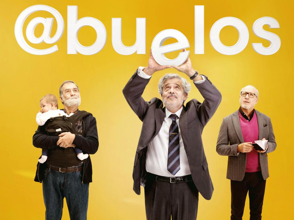 Cartel de la película 'Abuelos'.