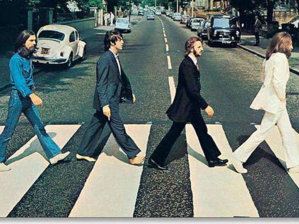 La icónica portada Abbey Road