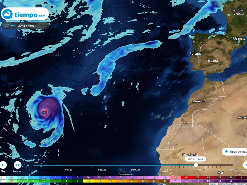 En los primeros días de octubre el huracán Lorenzo acaparará toda la atención.