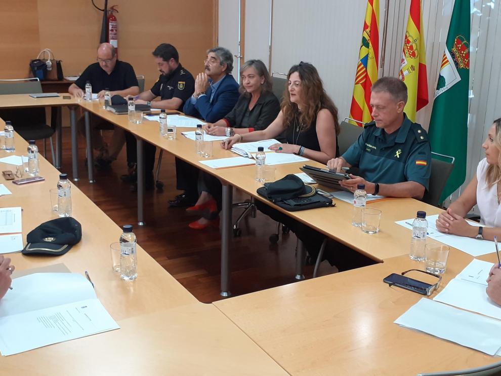 Esta semana se ha reunido la Junta de Seguridad Local.