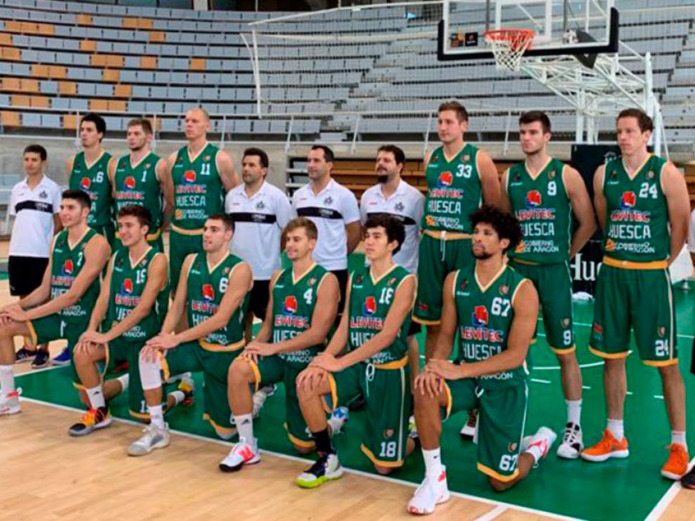El Levitec Huesca presenta diez novedades esta temporada.