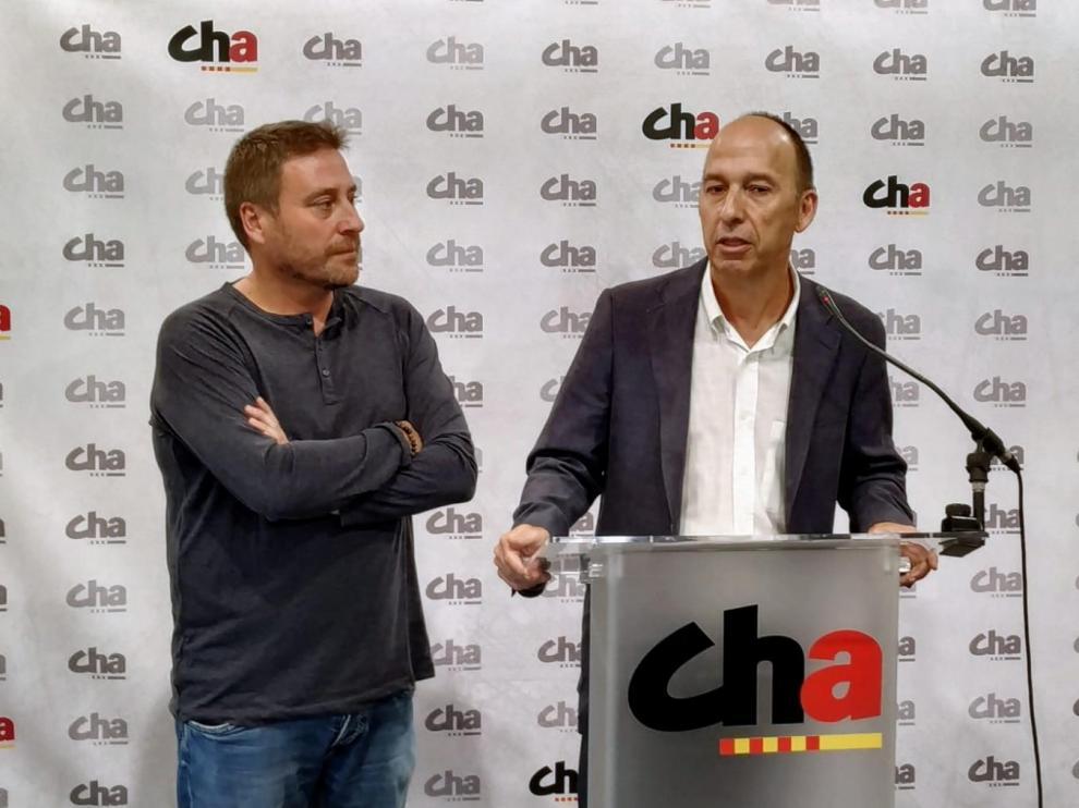 Carmelo Asensio y José Luis Soro.