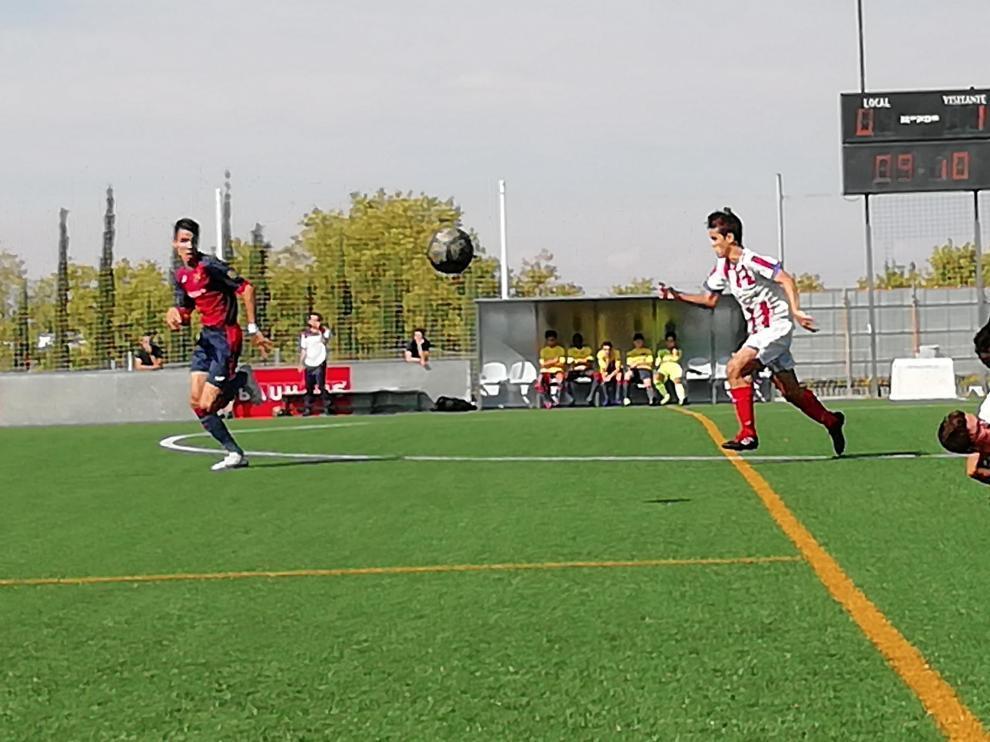 Fútbol. División Honor Cadete- Oliver vs. Monzón.