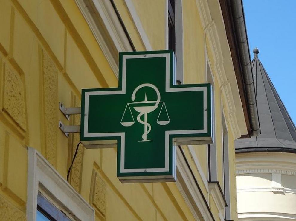 Foto de archivo de una farmacia