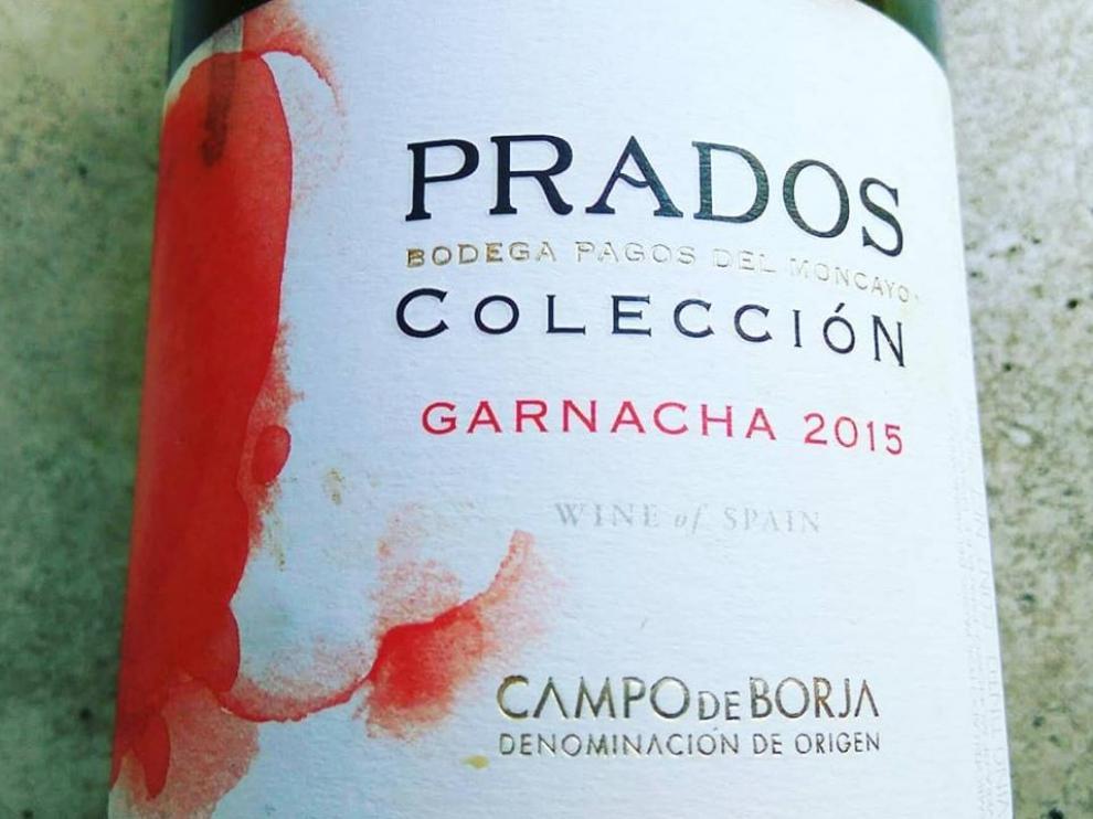 Botella de Prados Colección Garnacha 2015.