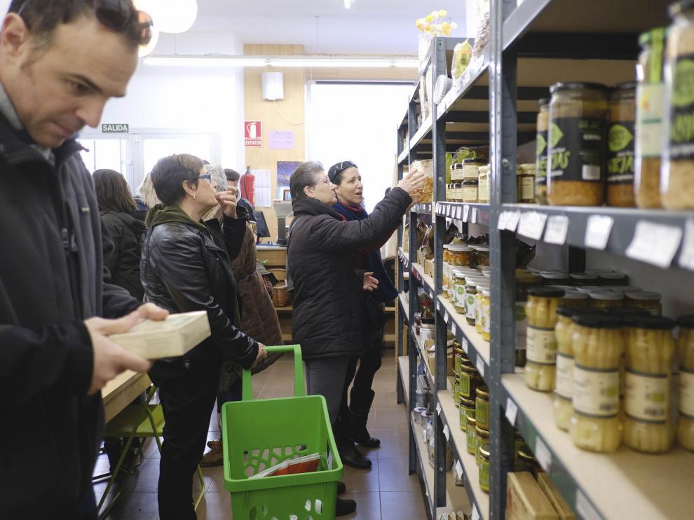 Mercado cooperativo A Vecinal