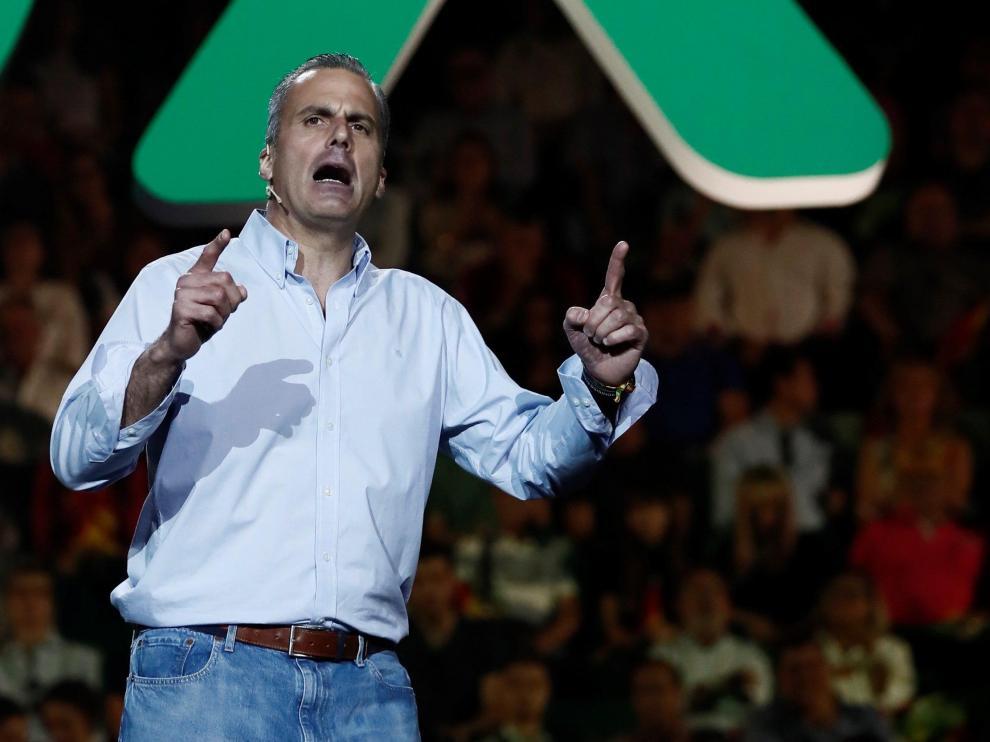 El secretario general de Vox, Francisco Javier Ortega Smith