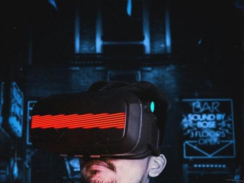 Gafas de realidad virtual.