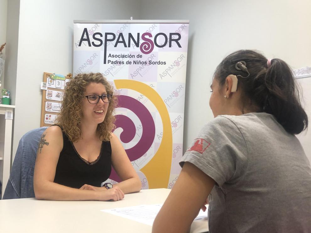 Aspansor ofrece sesiones de rehabilitación.