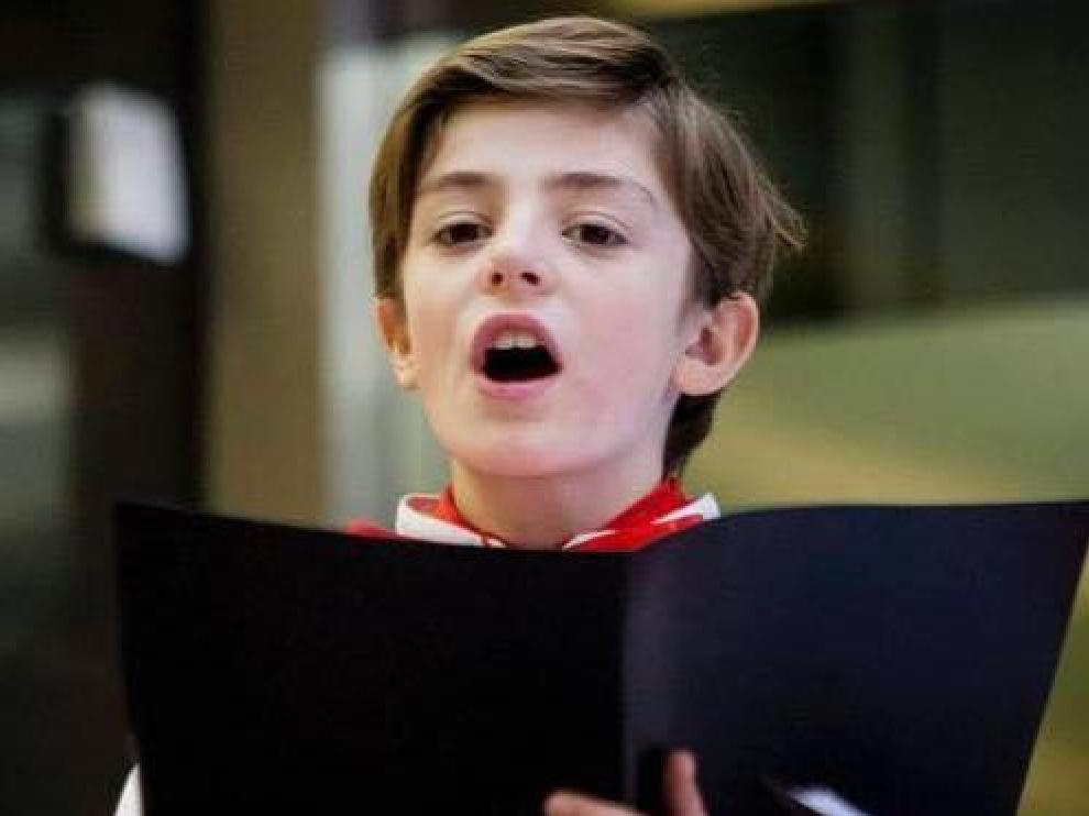 Un infantico se cuela en 'La Voz Kids'