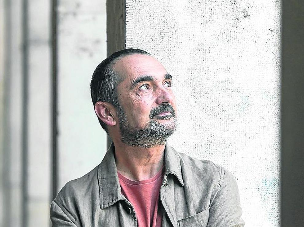 Joaquín Pardinilla, en estos días de fiesta en Zaragoza.