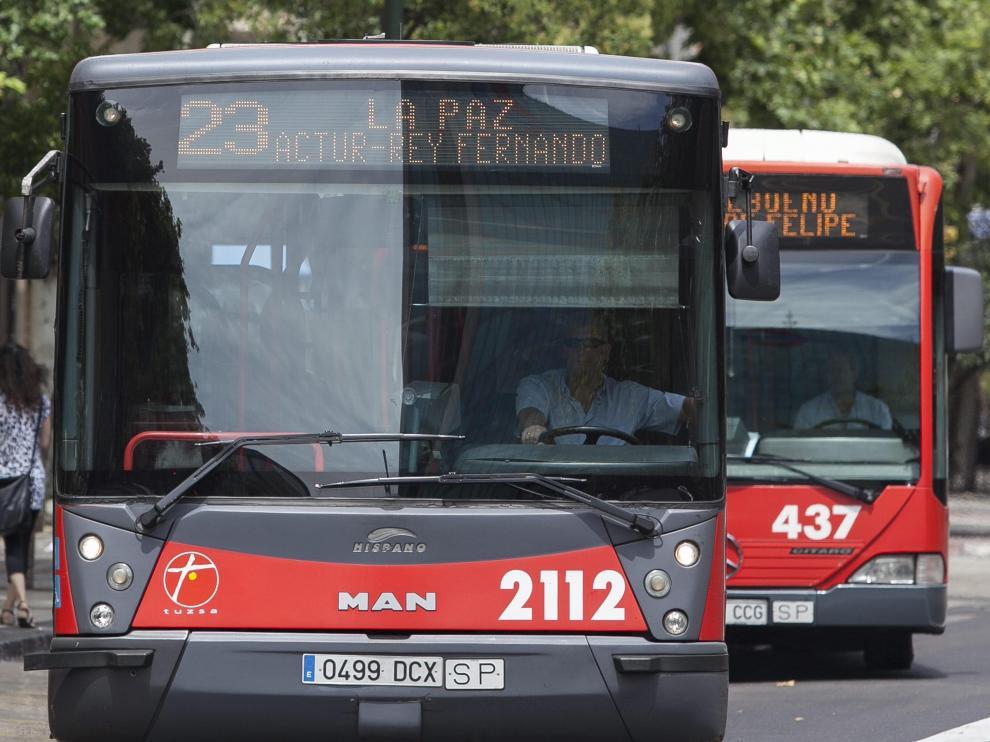 Imagen de archivo de un autobús de la línea 23.