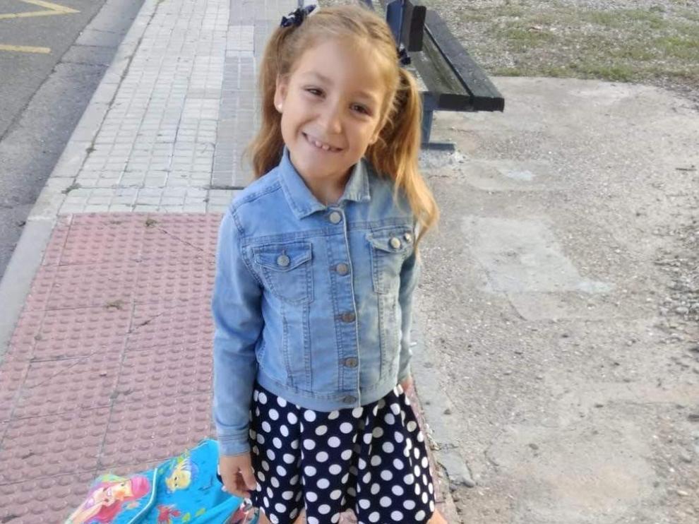 Itziar Guillén, otra niña zaragozana que se asoma a 'La Voz Kids'.