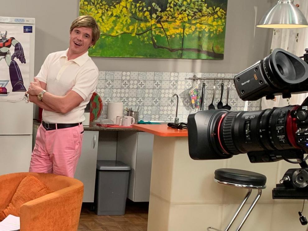 Rafa Maza, en una escena de la nueva temporada de 'Oregón TV'.
