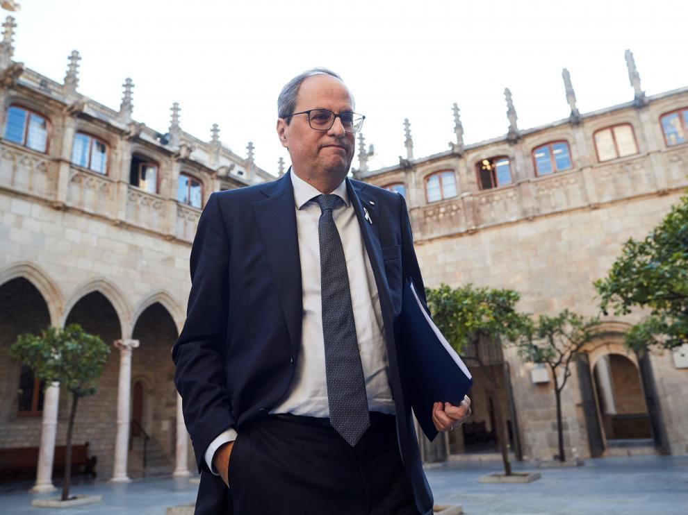Torra mantiene Cataluña paralizada.