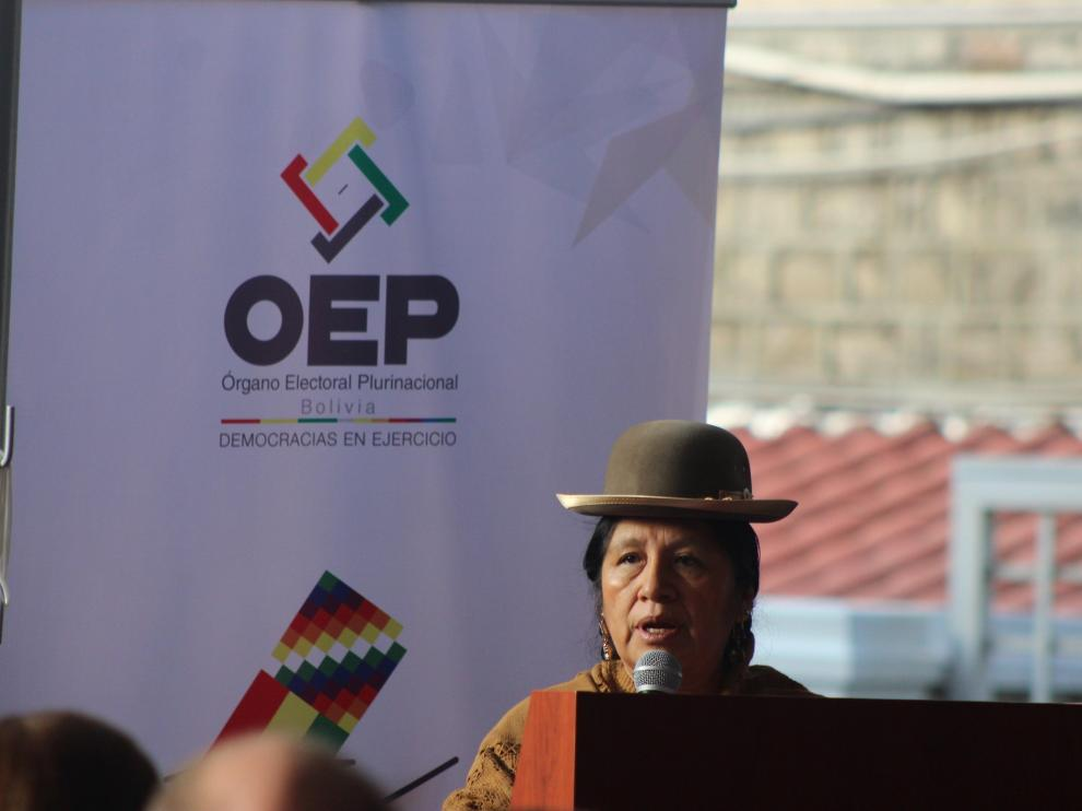 Elecciones en Bolivia.