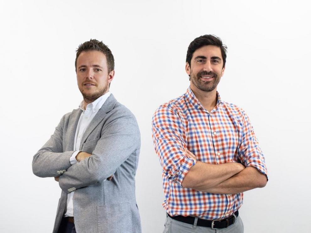 Marcos Latorre, director de Hiberus Digital Business, y Pau Valdés, CEO de InboundCycle.
