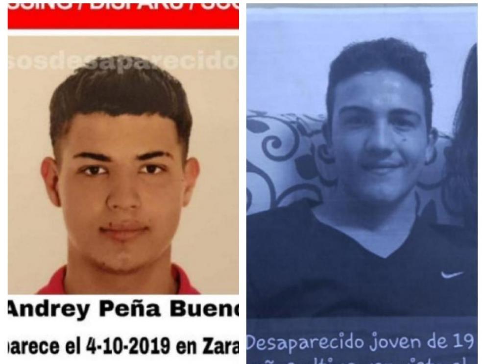 Localizados en buen estado los dos jóvenes desaparecidos en Zaragoza.