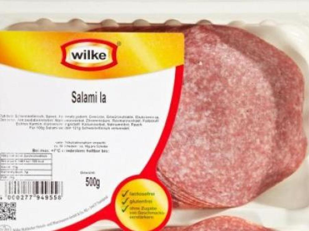 Sanidad retira productos cárnicos de la marca alemana Wilke por estar relacionados con un brote de listeria.