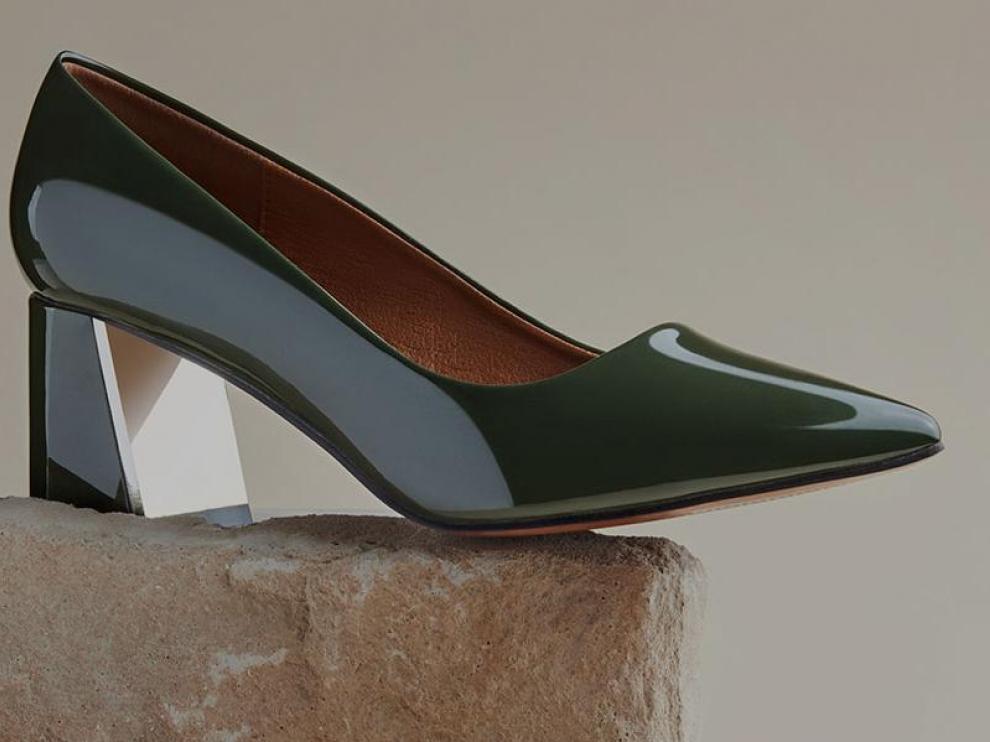 Un zapato de la más reciente colección de MaryPaz.