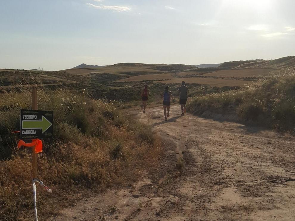 Imagen de archivo de la Trail Les Vales en María de Huerva.