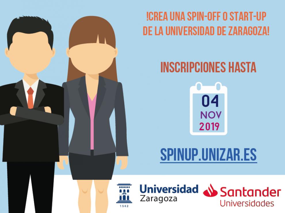 La UZ abre la convocatoria del programa 'Emprende con Unizar' para convertir 8 ideas en empresas.