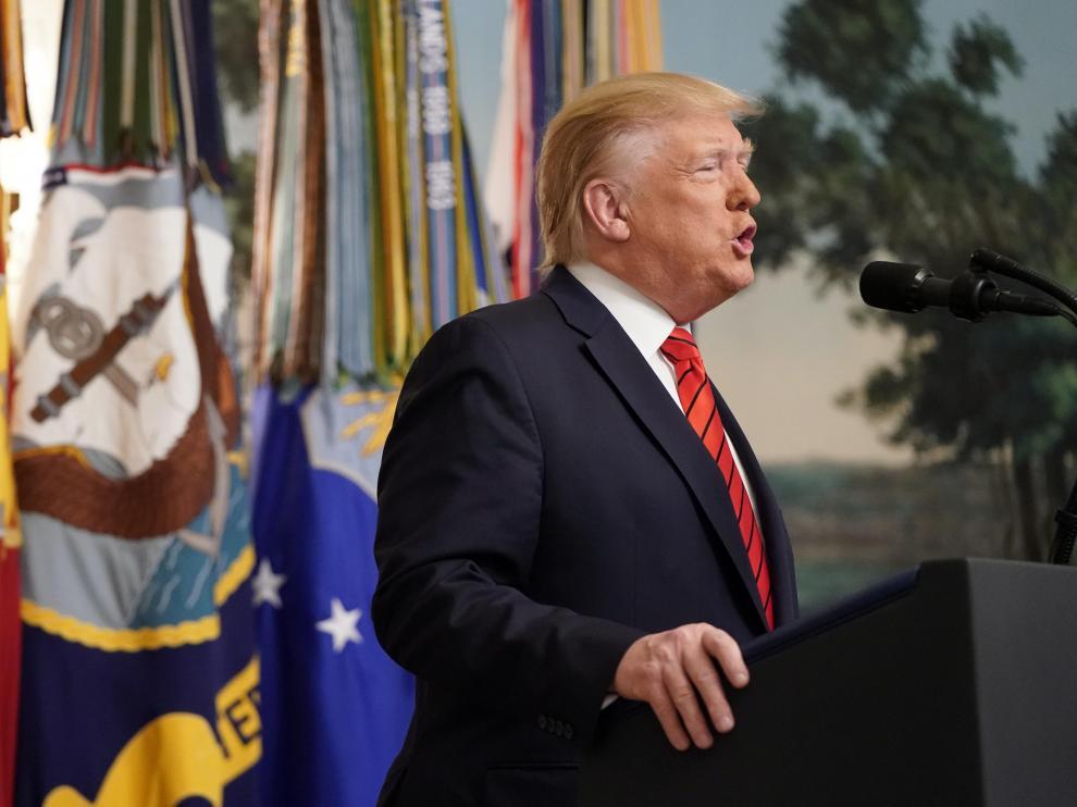 Trump anuncia la muerte de Al Bagdadi, jefe del Estado Islámico.