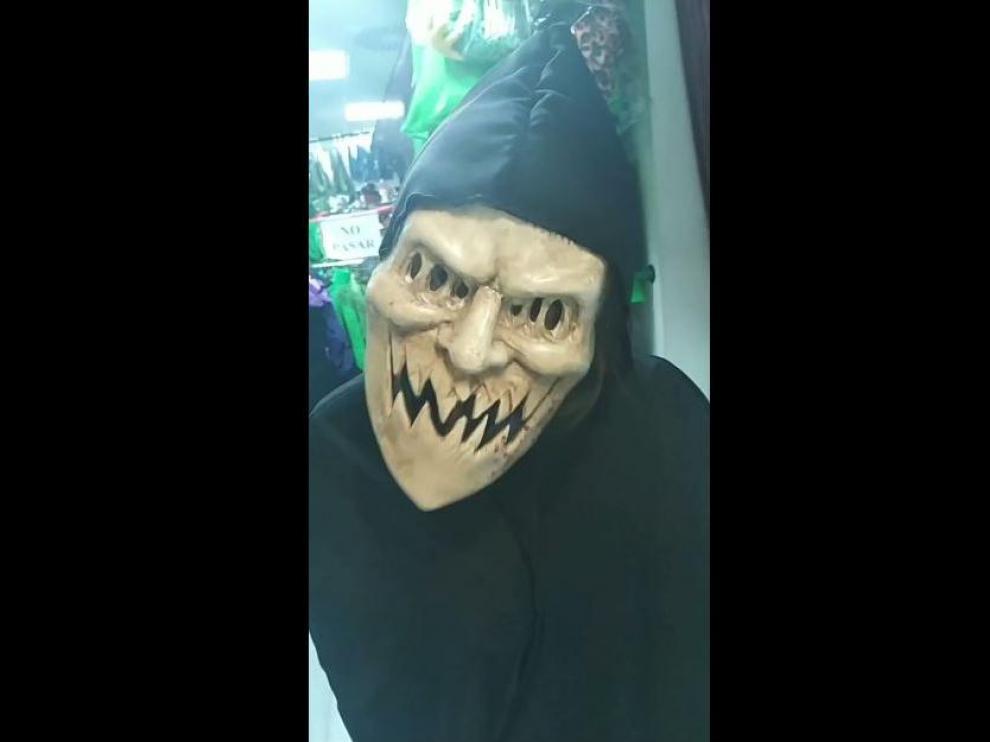 Máscara de La Purga.