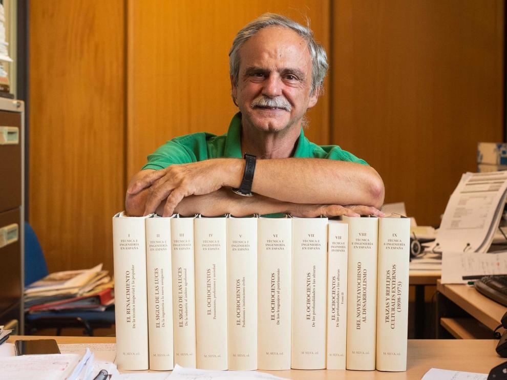 Manuel Silva ha ido, tomo a tomo, del Renacimiento al siglo XX.